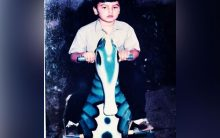 Arjun Kapoor posts childhood picture on toy horse