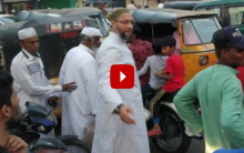 Asaduddin Owaisi clears traffic in Old City, video goes viral