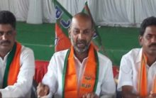 BJP MP Bandi Sanjay condemned the attack on forest officer by TRS