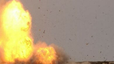 Photo of Saudi-led coalition attacks Houthi's air defence system
