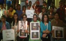 Anger prevails across the country on the killing of little girl in Aligarh