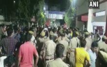 Prayagraj: Man shot dead by bike-borne assailants, crowd creates ruckus outside police station