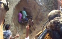 AP: Child rescued from 12-feet deep trench succumbs to injuries at hospital