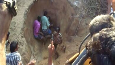 Photo of AP: Child rescued from 12-feet deep trench succumbs to injuries at hospital