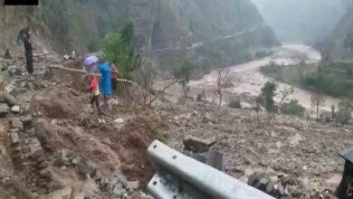 Photo of Cloud burst in Uttarakhand leaves one dead