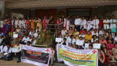 Photo of Doctors' strike hit services in Telangana, Andhra
