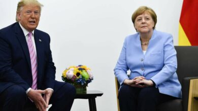 Photo of Beautiful harmony': Donald Trump plays nice in public at divisive G20