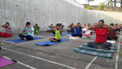 Photo of Navy gears up for International Day of Yoga
