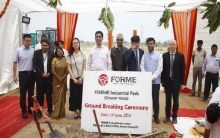 FORME announces ground breaking ceremony for first industrial park in India
