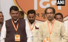 Ahead of state polls, Fadnavis refers to Uddhav Thackrey as 'elder brother' at Shiv Sena's foundation day