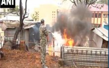 J&K: Fire breaks out at District Police Lines in Udhampur