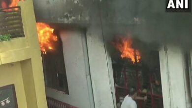 Photo of Fire breaks out in sports goods factory in Meerut
