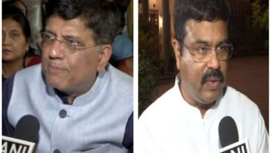 Photo of Goyal, Pradhan discuss challenges faced by steel industry