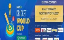 PharmEasy, Droom, Klook present GrabOn Cricket World Cup 2019