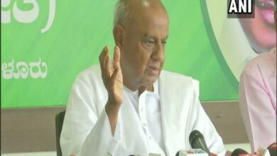 Photo of I have asked Rahul not to resign as Congress president: Gowda