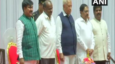 Photo of Karnataka cabinet expansion: R Shankar, H Nagesh take oath as state cabinet ministers