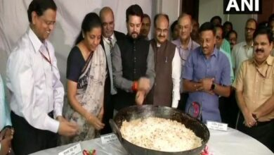 Photo of Halwa ceremony at Finance Ministry marks printing of Budget-2019 documents