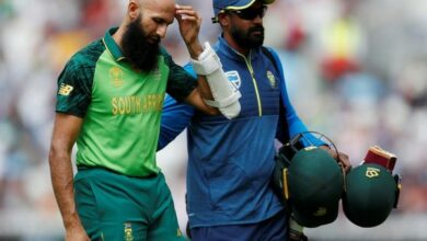 Photo of Hashim Amla ruled out of CWC'19 match against Bangladesh