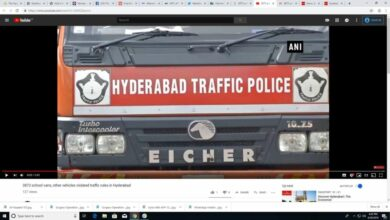 Photo of Hyderabad: 3873 school vans, other vehicles violated traffic rules booked