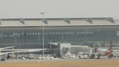 Photo of Hyderabad International Airport: Alleged security lapse reported