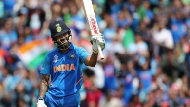 Photo of ICC Cricket World Cup 2019: Dhawan, Kohli power India to 352/5