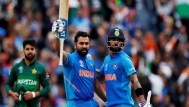 Photo of India vs Pakistan LIVE: Rohit, Kohli power India to 336/5