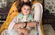 Sania Mirza celebrates her first Eid with son Izhaan