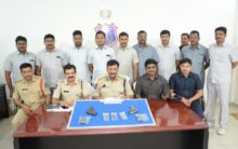SOT along with Meerpet police apprehended two inter state illegal arm traders