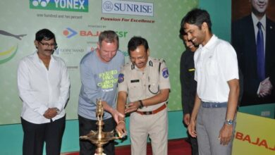 Photo of Cyberabad CP inaugrated ceremony of Yonex All India badminton tournament