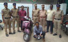 240 grams of ganja seized in Charminar, one held