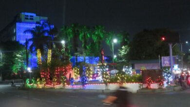 Photo of City decked up to TS Formation day