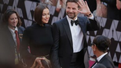 Photo of Irina Shayk coping well with split from Bradley Cooper