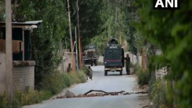 Photo of J-K: Exchange of fire between terrorists, security forces in Budgam