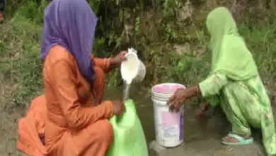 Photo of J-K: Samba residents forced to drink contaminated water as crisis deepens