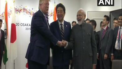 Photo of Modi holds trilateral meeting with Trump, Abe in Osaka