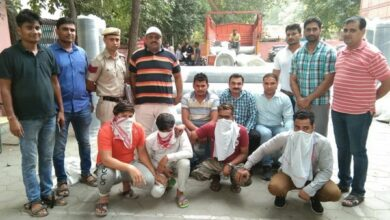 Photo of Delhi police bust gang of jeans robbers, four held