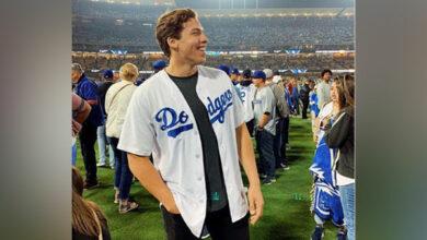 Photo of Joseph Baena skips Katherine Schwarzenegger-Chris Pratt wedding, spotted at gym