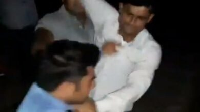 Photo of GRP Inspector, Constable suspended for beating, urinating on journalist in Shamli