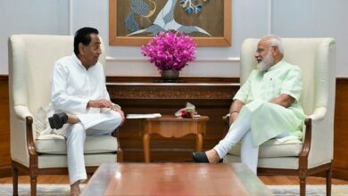 Photo of MP CM Kamal Nath meets PM Modi