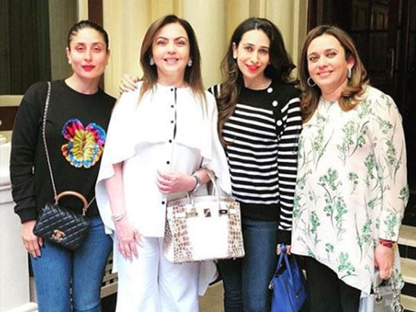 Kareena, Karisma spend 'wonderful afternoon' with Nita Ambani