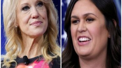 Photo of Sarah Sanders a 'battle-tested warrior': Kellyanne Conway