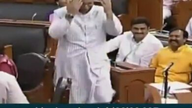 Photo of MPs chant 'Jai Shri Ram' in Lok Sabha, Owaisi replies with 'Allahu Akbar'
