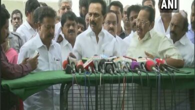Photo of AIADMK govt acted on water crisis after we raised issue: Stalin