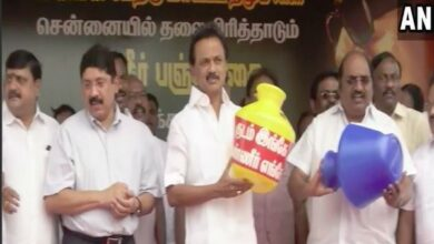 Photo of DMK chief Stalin accuses TN govt of inability to tackle water crisis