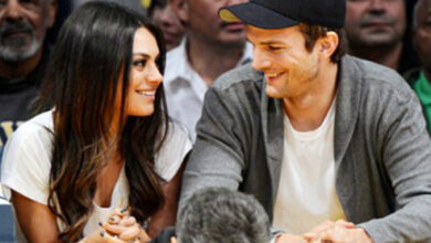 Photo of Mila Kunis, Ashton Kutcher respond to split report in a funny way