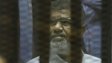 Photo of Egypt's former president Morsi quietly buried in Cairo