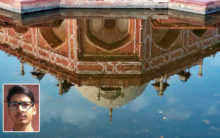 A photo by a Jamia Millia student Mohsin selected for UNESCO World Photography contest