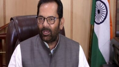Photo of Mukhtar Abbas Naqvi calls International Religious Freedom report 'prejudiced'