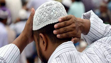 Muslims prayers