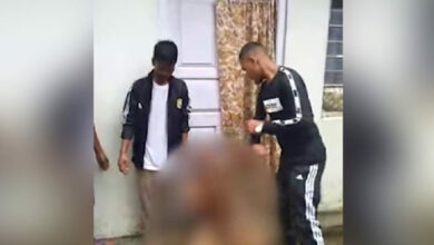 """Photo of Meghalaya: Naked man cries for """"Allah's help"""" while brutally thrashed"""